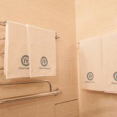 Гостиница Горная Резиденция АпартОтель Люкс с двуспальной кроватью фото 6