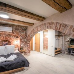 Rixwell Old Riga Palace Hotel 4* Стандартный семейный номер с двуспальной кроватью фото 7