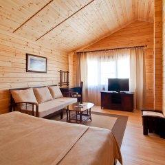Гостиница Золотая бухта Бунгало с различными типами кроватей фото 5