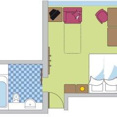 Отель Geigers Lifehotel 4* Стандартный номер с различными типами кроватей