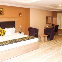 Отель Visa Karena Hotels 3* Номер Бизнес с различными типами кроватей фото 3