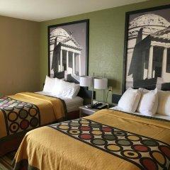 Отель Super 8 by Wyndham Vicksburg 2* Стандартный номер с различными типами кроватей