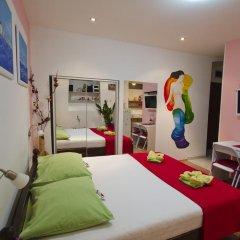 Апартаменты Studio Venera Семейная студия с двуспальной кроватью фото 27
