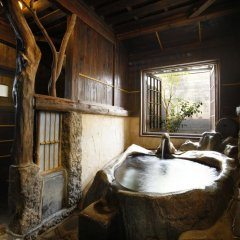 Отель Yunoyado Irifune Минамиогуни сауна