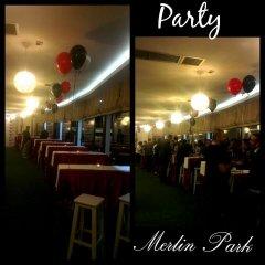 Отель Merlin Park Resort Тирана гостиничный бар