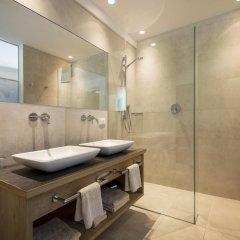 Отель Familienresidence Grafenstein Италия, Чермес - отзывы, цены и фото номеров - забронировать отель Familienresidence Grafenstein онлайн ванная