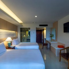 Отель Chanalai Garden Resort, Kata Beach 4* Улучшенный номер с двуспальной кроватью фото 10