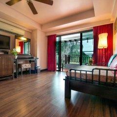 Отель Krabi Cha-da Resort 4* Стандартный номер с различными типами кроватей фото 7