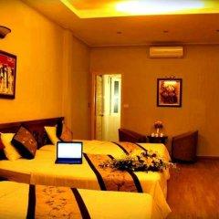 Hanoi Little Center Hotel 3* Номер Делюкс разные типы кроватей фото 4