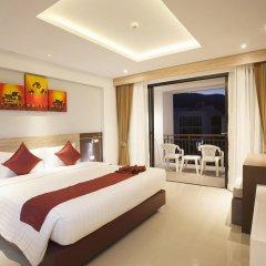 Отель Paripas Patong Resort 4* Номер Делюкс с двуспальной кроватью фото 7