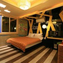 Haeundae Grimm Hotel 2* Номер Делюкс с различными типами кроватей фото 9