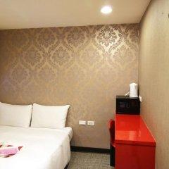 Отель Ximen Taipei DreamHouse 2* Стандартный номер с двуспальной кроватью фото 5