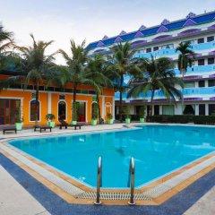 Отель Blue Carina Inn Hotel Таиланд, Пхукет - отзывы, цены и фото номеров - забронировать отель Blue Carina Inn Hotel онлайн бассейн
