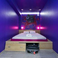 Гостиница HQ Hostelberry Номер Эконом разные типы кроватей (общая ванная комната) фото 17