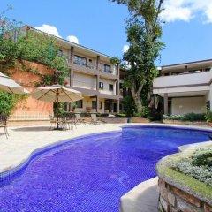 Plaza Magdalena Hotel бассейн