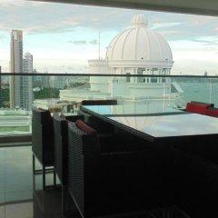 Отель Wong Amat Tower балкон