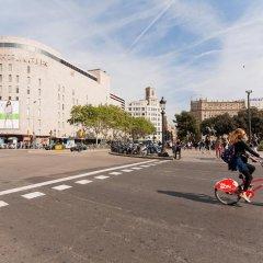 Отель Rambla Suites Барселона парковка