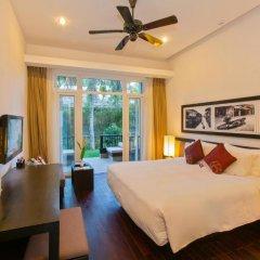 Отель Hoi An Beach Resort 4* Номер Делюкс с различными типами кроватей фото 5