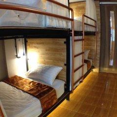 Sleep Owl Hostel Кровать в общем номере с двухъярусной кроватью фото 2