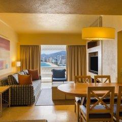 Отель Fiesta Americana Acapulco Villas 4* Люкс с различными типами кроватей фото 7