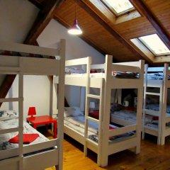 Hostel Just Lviv It! Стандартный семейный номер разные типы кроватей фото 2