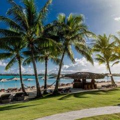 Отель The St Regis Bora Bora Resort пляж фото 4