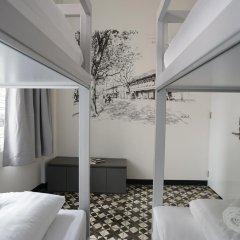 Отель Cacha bed Кровать в общем номере с двухъярусной кроватью фото 7
