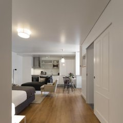 Апартаменты Lisbon Serviced Apartments Baixa Castelo Студия с различными типами кроватей фото 10