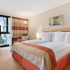 Отель Hilton Vienna 5* Стандартный семейный номер с двуспальной кроватью фото 4