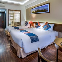 Amazing Hotel Sapa 4* Улучшенный номер с различными типами кроватей фото 2