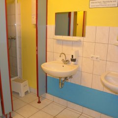 Отель Backpackers Düsseldorf Стандартный номер с 2 отдельными кроватями (общая ванная комната) фото 4