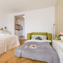 Апартаменты Rondo ONZ P&O Apartments Студия Делюкс с различными типами кроватей фото 4