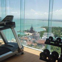 Отель Wong Amat Tower Apt.909 Паттайя фитнесс-зал фото 4