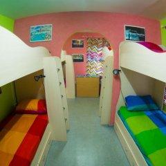 Хостел Гуд Лак Кровать в общем номере фото 20