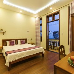 Отель Qua Cam Tim Homestay Номер Делюкс с различными типами кроватей фото 5