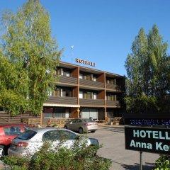 Отель Hotelli Anna Kern Финляндия, Иматра - отзывы, цены и фото номеров - забронировать отель Hotelli Anna Kern онлайн парковка