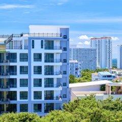 Отель Art on the Hill by MyPattayaStay Паттайя балкон