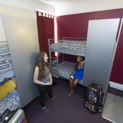 Отель USA Hostels San Francisco Кровать в общем номере с двухъярусной кроватью фото 9