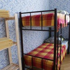 Хостел Кутузова 30 Кровать в общем номере с двухъярусной кроватью фото 25
