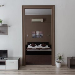 Апартаменты Budapest Center Apartments Nicole Будапешт комната для гостей фото 4
