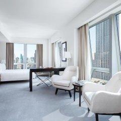 Отель The Langham, New York, Fifth Avenue Представительский номер с различными типами кроватей фото 8