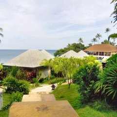 Отель Samui Cliff View Resort & Spa пляж фото 2