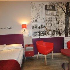 Grand Hotel de Turin 3* Стандартный номер разные типы кроватей фото 6