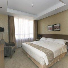 Отель The Salisbury - YMCA of Hong Kong Семейный люкс с двуспальной кроватью
