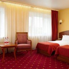 АЗИМУТ Отель Нижний Новгород 4* Стандартный номер с 2 отдельными кроватями фото 3