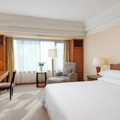 Sheraton Xian Hotel 4* Номер Делюкс с различными типами кроватей фото 4