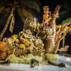 Отель Gusto Tropical Hotel Доминикана, Бока Чика - отзывы, цены и фото номеров - забронировать отель Gusto Tropical Hotel онлайн питание