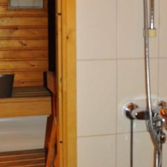 Отель Karviaismäki Финляндия, Хельсинки - отзывы, цены и фото номеров - забронировать отель Karviaismäki онлайн ванная фото 2