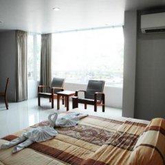 Апартаменты Naiharn Beach Road Apartment Студия Делюкс с различными типами кроватей фото 5