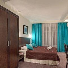 Гостиница Голубая Лагуна Стандартный номер двуспальная кровать фото 2